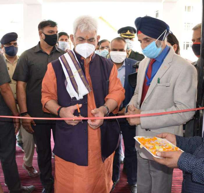 Lt Governor inaugurates Youth Recreational Centre at Shirmal, Shopian