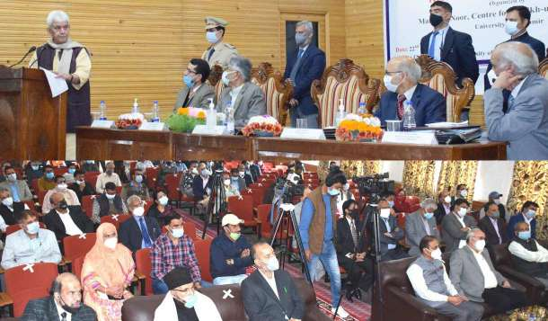 "One Day National Seminar on ""Reshi- Sufi Traditions of Kashmir"" held at Kashmir University"