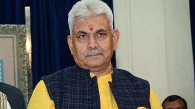 Violence-free DDC polls biggest achievement in Jammu and Kashmir: LG Manoj Sinha