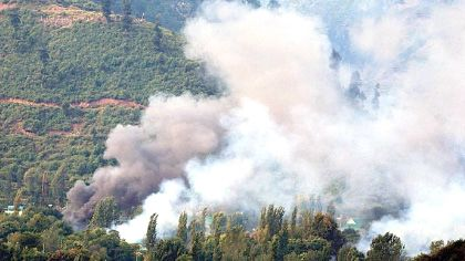Cross border firing in Kathua