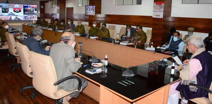 Lt Governor Manoj Sinha reviews security arrangements for DDC elections, Panchayats/ULB By-Polls