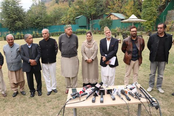 PAGD to meet in Jammu on Nov 7: key decisions on cards