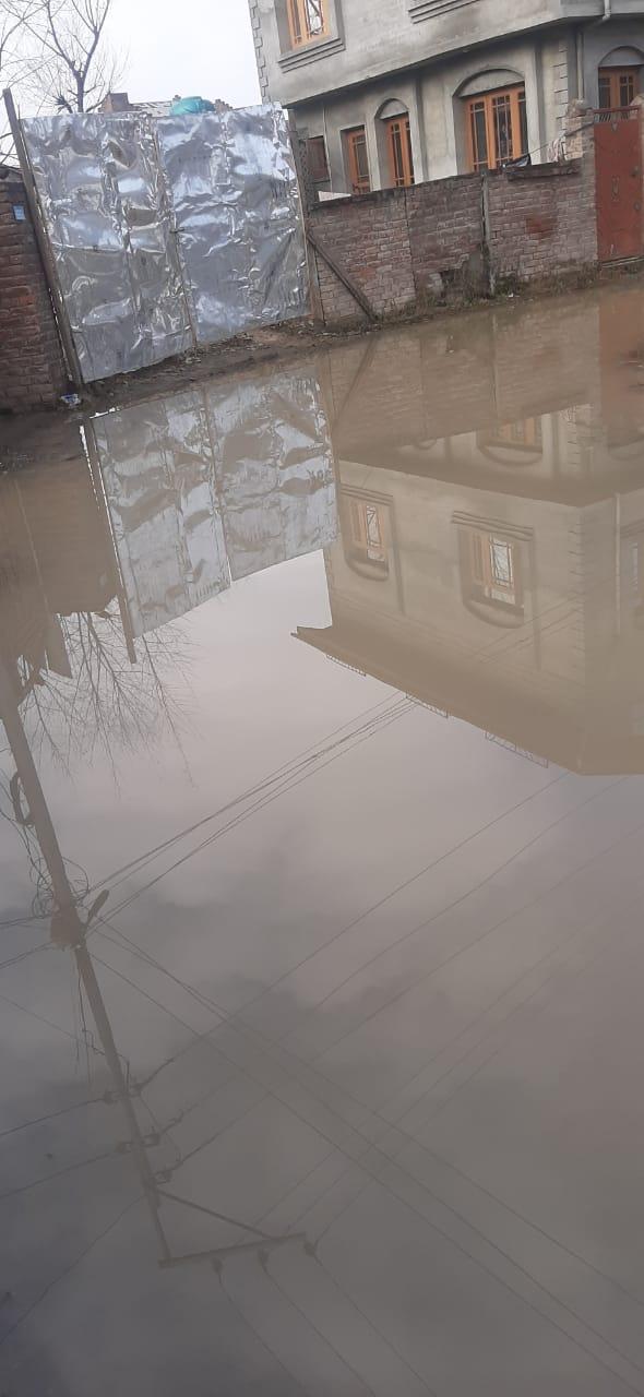 MOOMINABAD BATAMALOO WITHOUT DRAINAGE SYSTEM FACE WATER LOGGED LANES