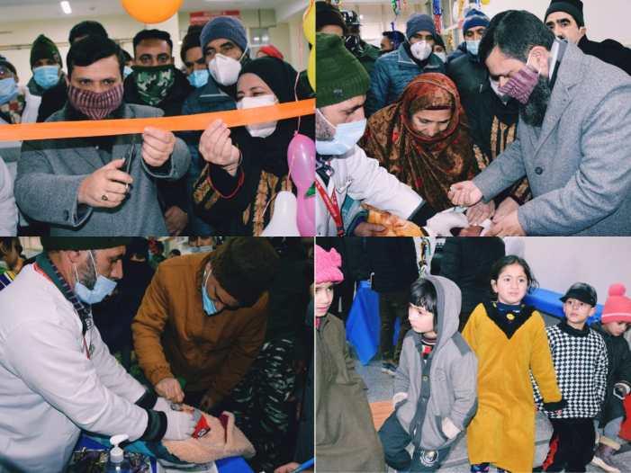 Intensive Pulse Polio Immunization of children held across Kashmir