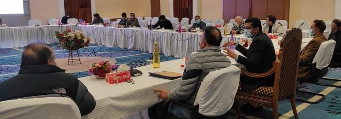 Srinagar Smart City: CEO SSCL discusses new project proposals with heads of departments