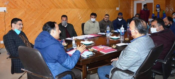 Director Tourism Kmr, DDC B'gam visit Doodhpathri