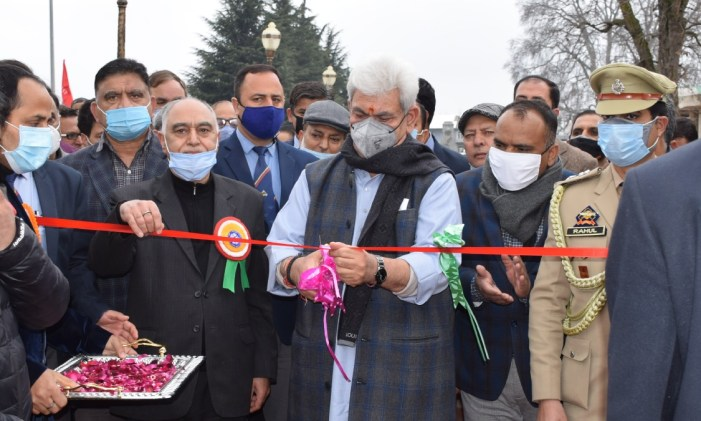 """Lt Governor inaugurates 6th Technology Exhibition cum Seed Sale Mela on the theme """"Shaping the Future Farming for Better Returns"""" at SKUAST-K"""