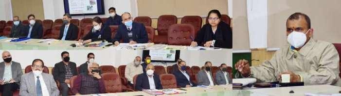 Principal Secretary to LG Nitishwar Kumar reviews functioning of Forest Department