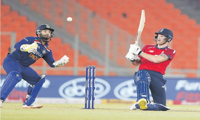 India edge England to level series
