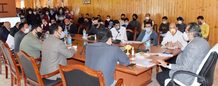Development of tourist destinations priority of UT Administration: Advisor Baseer  Khan