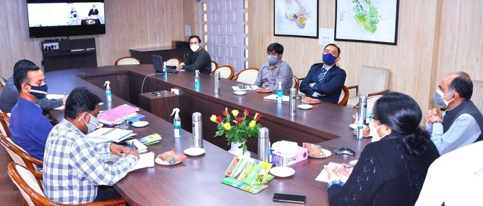 Commissioner Forests reviews implementation of Forest Rights Act, 2006