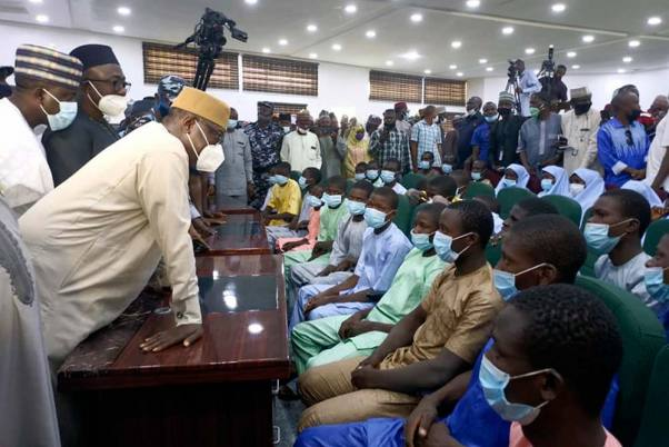 279 Kidnapped School girls Are Freed: Nigerian Governor