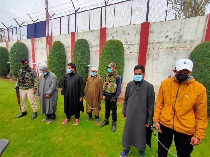 Militants, sympathizers arrested in Handwara