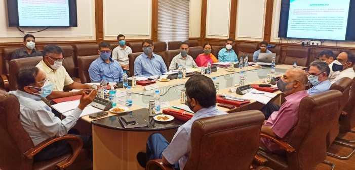 Advisor Bhatnagar chairs 97th BoDs meet of JKPCC