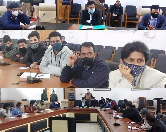 Strategise Covid mitigation measures at local level for smooth implementation of Govt restrictions: DC Ang to officers