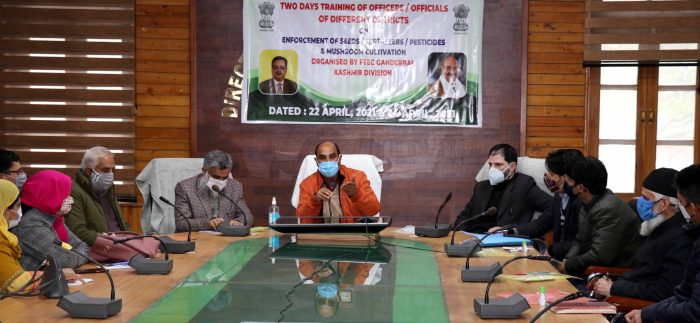 Director Agriculture inaugurates two days training program of officers
