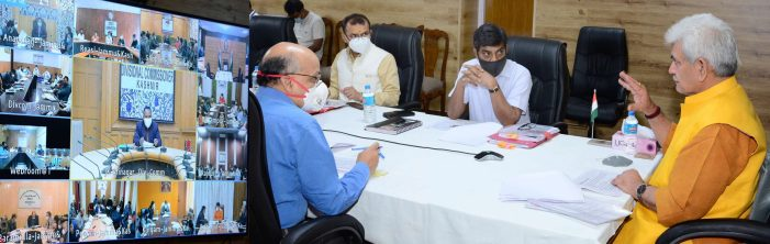 Lt Governor chairs meeting with all DCs, provides insights for effective formulation of District Development Plans