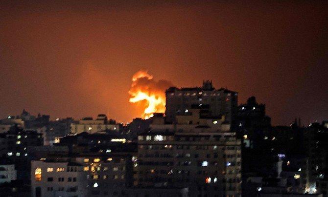 Hamas strikes at Israel in retaliation to killing of Palestinians