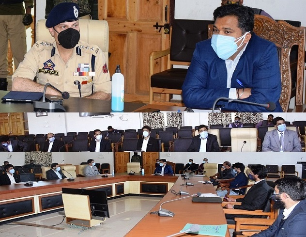 DC Anantnag holds introductory meeting with Prosecution Officers