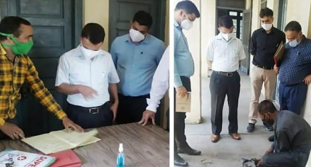 Dir Sheep Husbandry inspects facilities in Kartholi office complex