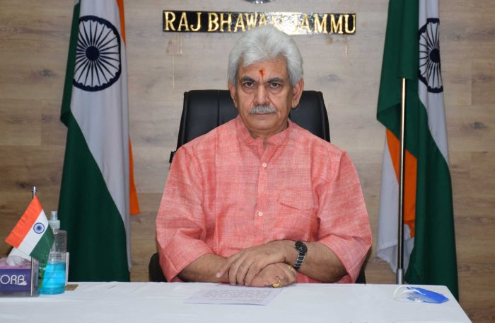 Lt Governor addresses the people of J&K through video message