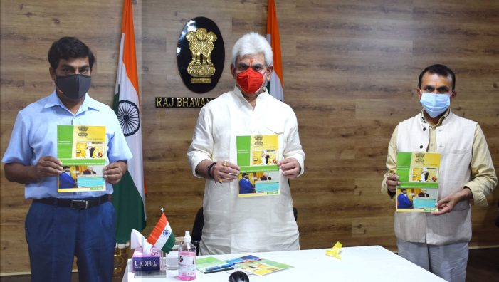 Lt Governor releases Finance Department's Annual Report- 'Promoting Good Governance'