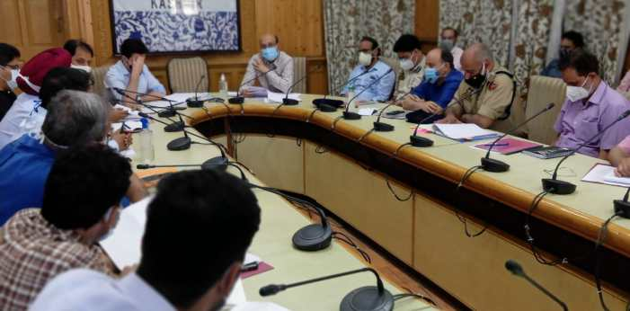 Ad Com Sarwar chairs transport management system meet.