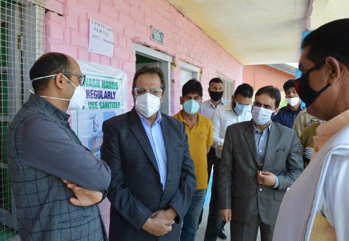 Advisor Baseer Khan Visits Tangmarg