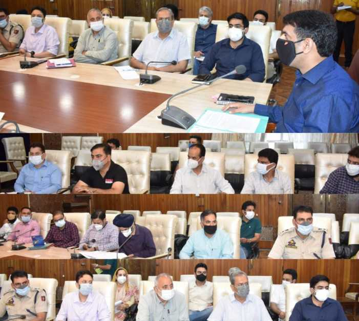 DC Srinagar reviews Eid-ul-Azha arrangements