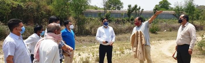 Director Handicrafts & Handloom, Jammu visits Sumb area to assess potential of Bamboo craft