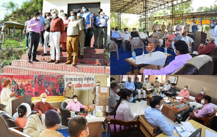Div Com reviews development scenario in Reasi District