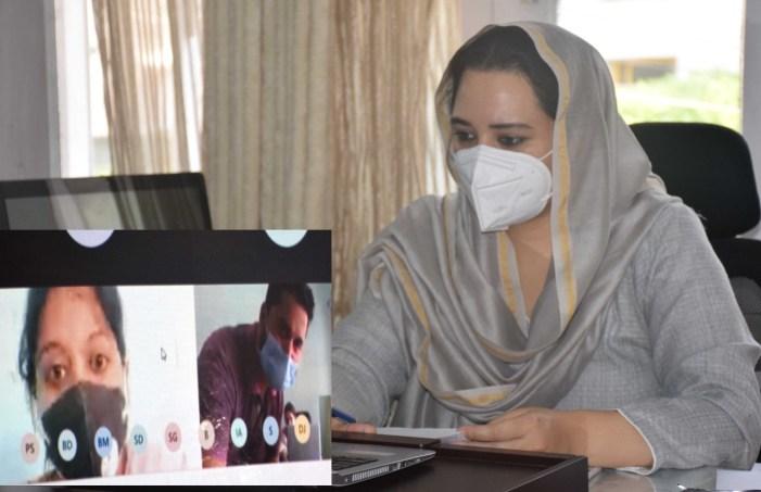 Aim to offer gender based enterprises to women SHGs: Dr Sehrish