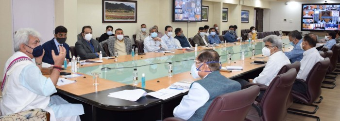 Rs. 12,600.58 Crore District Capex Budget 2021-22, more than double to the previous year, approved for equitable development of J&K with active involvement of Panchayats, BDCs, DDCs