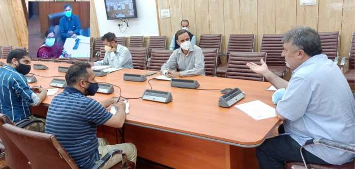 Samoon stresses on updation of recruitment rules in SDD