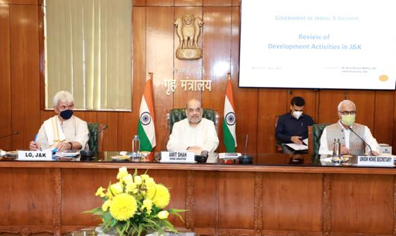 All round development and welfare of people of Jammu and Kashmir is the top priority of Modi government: Amit Shah