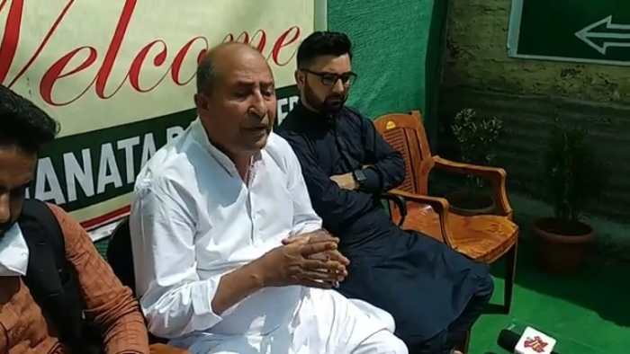 Political leaders from Kashmir disappoint people: GM Shaheen