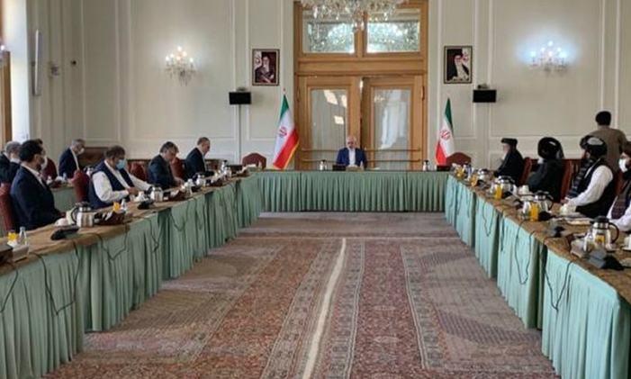 Afghan govt meets Taliban in Tehran