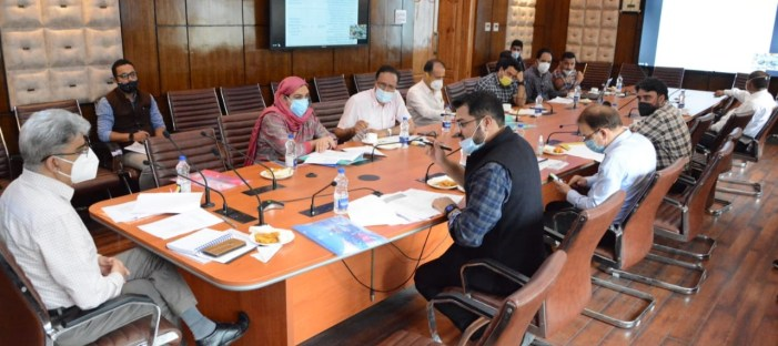 Atal Dulloo reviews finalisation of 'COVID-19 Emergency Response & Health Systems Preparedness Package Phase-II'