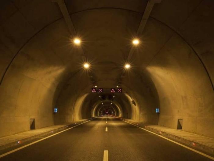 Double tube tunnel ready for the traffic on Srinagar-Jammu highway