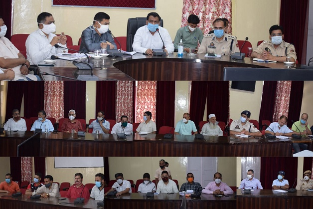 DC Dodadiscusses Eid-ul Adha arrangements with religious heads, traders unions