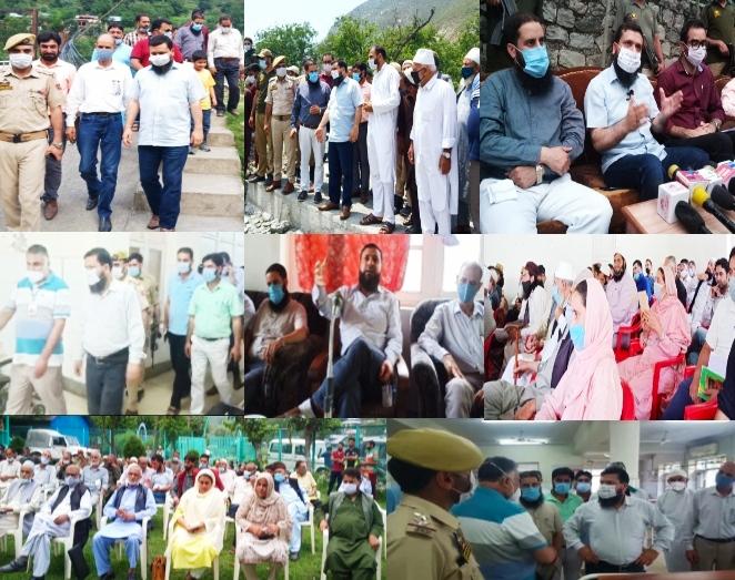 DC Kupwara holds Public Darbar at Karnah