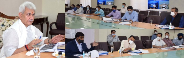 Lt Governor reviews Tourism department's functioning; calls for preparing a comprehensive future plan