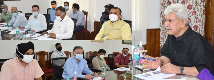 Lt Governor reviews functioning of Disaster Management, Relief, Rehabilitation & Reconstruction Department