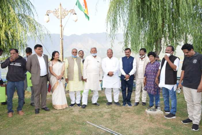 Parliamentary Standing Committee's Kashmir study tour concludes