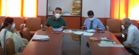 SOP signed regarding execution of NCPUL Scheme Certificate Course in Paper Machie in J&K