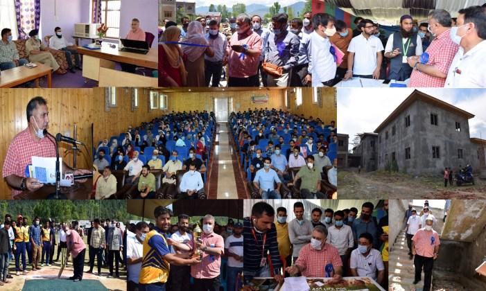 Samoon visits Kupwara; inaugurates Job Mela, inspects ITIs, Polytechnic College