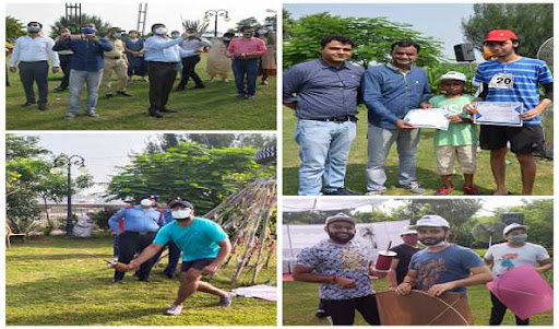 Kite flying event organized by Jammu tourism department