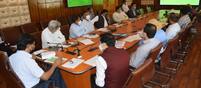 Union Home Secretary reviews implementation of PMDP Projects in J&K