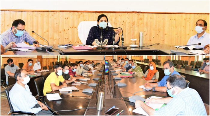 DC Gbl reviews progress on Vaccination drive in district
