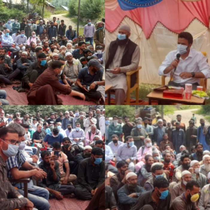 DC Kulgam visits rural, far-off areas of the district